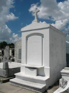 bright white tomb