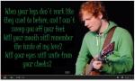 Ed Sheeran- Thinking Out Loud (Lyrics)