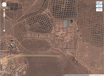 Google Maps Gobekli Tepe, Turkey