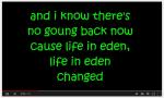 Sara Bareilles- Eden- Lyrics