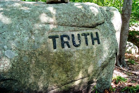Truth Etched in Stone